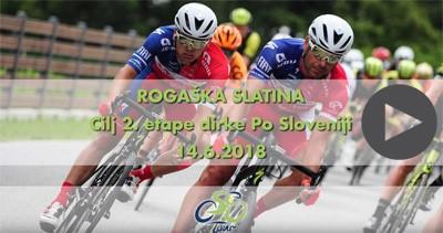 Rogaška Slatina - CILJ 1. ETAPE mednarodne kolesarska dirke 2019
